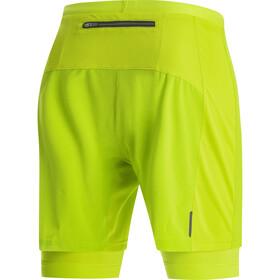 GORE WEAR R5 2in1 Shorts Men citrus green